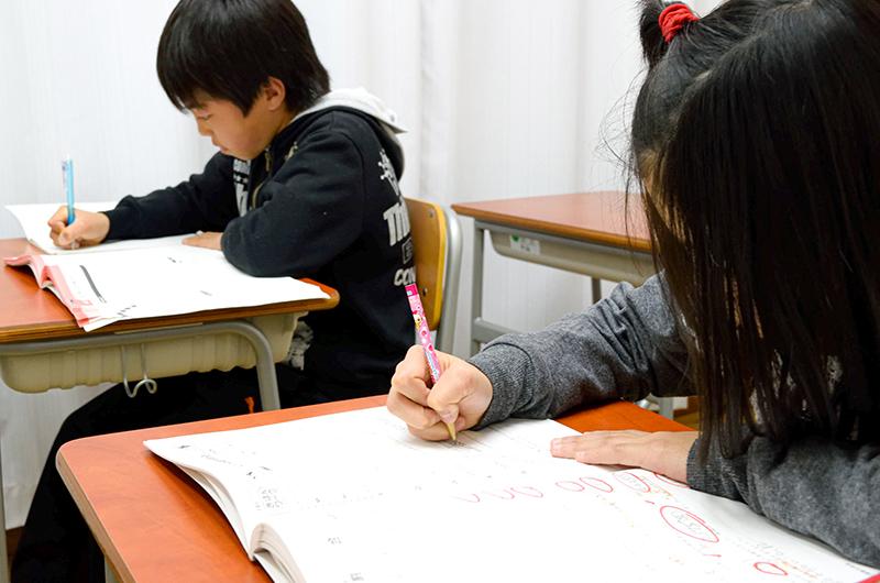 勉強様子2